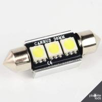 Ampoule navette first anti erreur obd 2 leds blanches 36mm 2