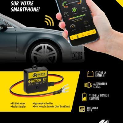Vérifiez votre batterie sur votre smartphone