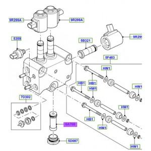Filtre de bloc electrovanne pour range rover default