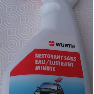 Nettoyant sans eau - lustrant minute