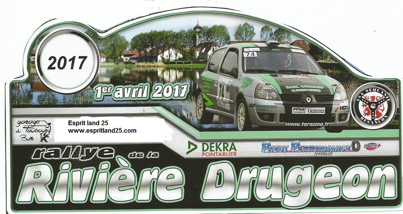 Rivière Drugeon 2017